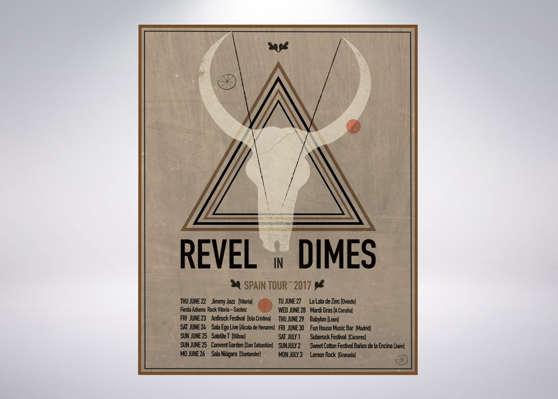 Cartel revel In Dimes por Arteuparte